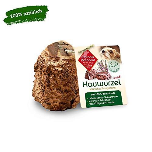 ChronoBalance Kauwurzel für Hunde aus Baumheide - 100% Naturprodukt ohne Zusätze - dauer Kauspielzeug,...