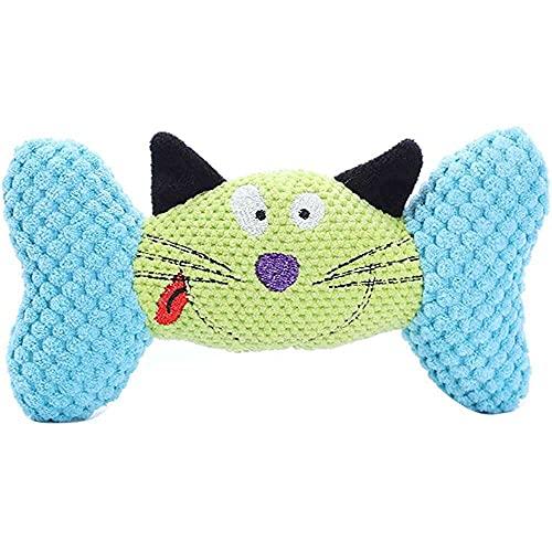 jiabushu shop Haustier-Spielzeug, verschleißfest, für Hunde und Katzen, künstliches Knochen, Kauen,...