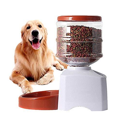 othulp Futterspender Katze Trockenfutter Futterautomat Hunde Hundefutterautomat Hundefutterautomat mit...