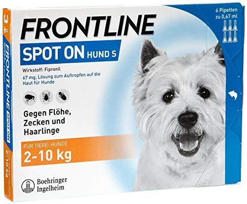 Frontline Spot on Hund S Lösung