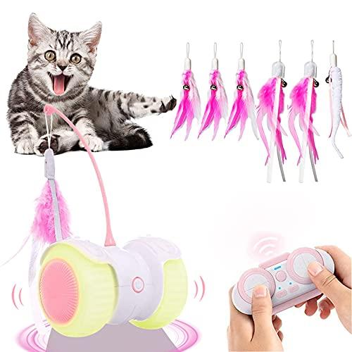 Ewilibe Katzenspielzeug Elektrischer Interaktives Spielzeug Katzen Intelligenzspielzeug 14 in 1...