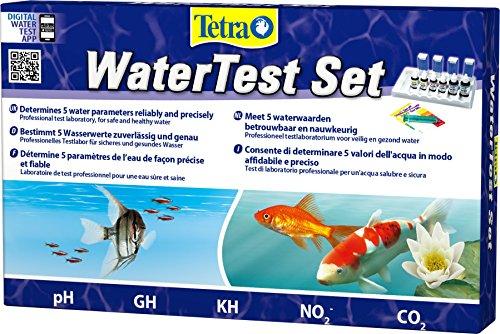Tetra WaterTest Set (zur zuverlässigen und genauen Bestimmung von fünf entscheidenen Wasserwerten im...