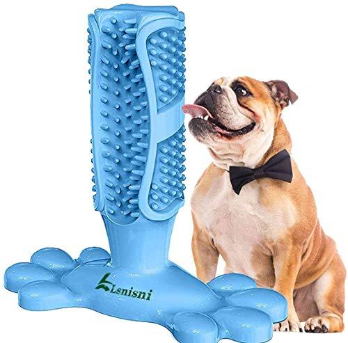 Lsnisni Hundezahnbürste, Kau-Zahnbürste, Hundezahnbürste, Massagegerät, Haustier-Kauspielzeug,...