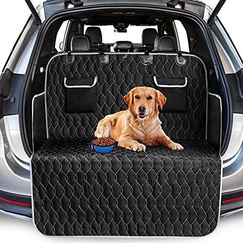 Toozey Kofferraumschutz Hund, Wasserdichter/Rutschfester Kofferraum Schutzmatte mit Seitenschutz,...