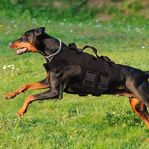 PETAC GEAR Taktisches Hundegeschirr K9 Arbeitshunde Weste Military Dog Training Harness Polizei Service...