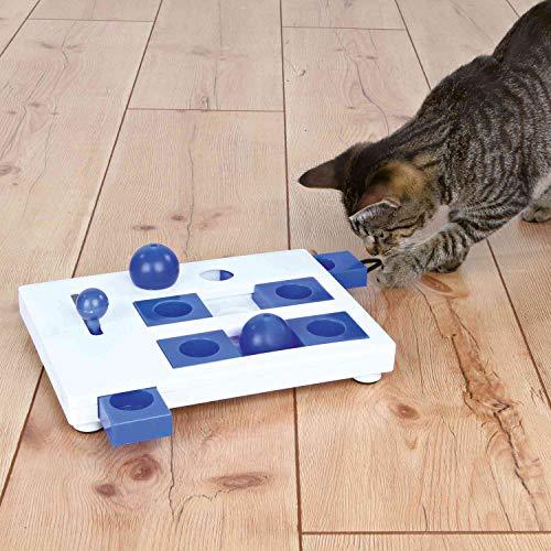 Trixie 4596 Cat Activity Brain Mover ,blau , 25 × 20 cm