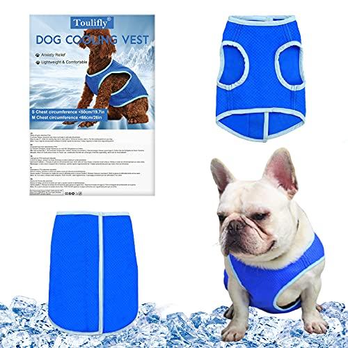 Toulifly Kühljacke Hund,kühljacke für Hunde, Hundeweste Sommer Kühlweste für Hunde Atmungsaktiv...