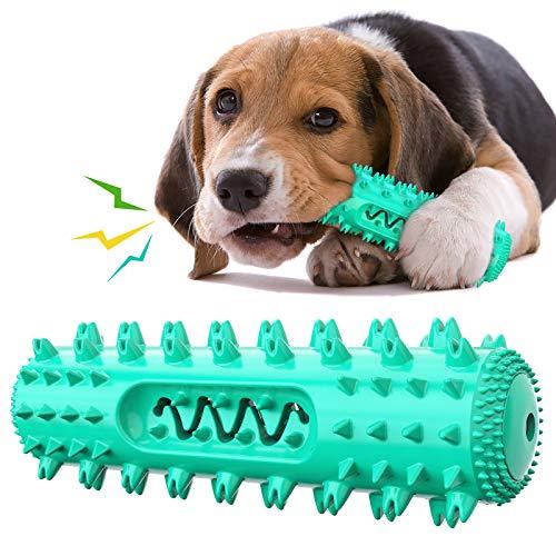 Kauspielzeug für Hunde, Zahnreinigungsstab, quietschender Zahnstock, Zahnbürste mit ungiftigem,...