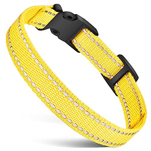 JODELA Hundehalsband, reflektierendes Nylon, für kleine, mittelgroße und große Hunde