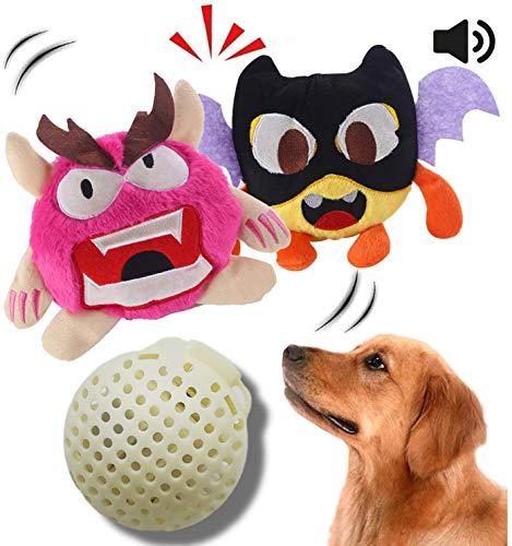 Interaktives Plüschhundespielzeug des Hundespielzeugs, das automatisches Ballspielzeug brummt, das...