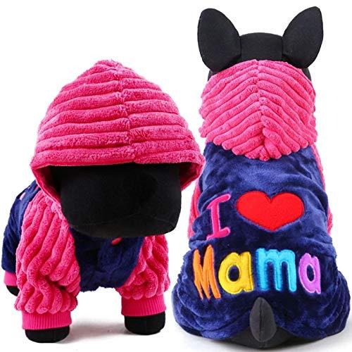 ACYKM Hundekleidung Hundemantel Haustierkleidung Hundeweste für kleine Hunde Haustiermantel Kleidung...