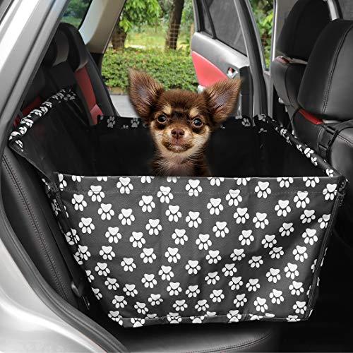X AUTOHAUX Hunde Autositz kleine bis mittlere Hunde,wasserdichte Hundesitz Autoschondecke,Autositzbezug...