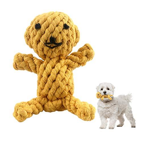 MEKEET Hundespielzeug Hundeseile Pet Rope Spielzeug aus Natürlicher Baumwolle ungiftig und geruchlos...