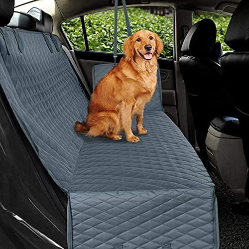 Autoschondecken für Hunde, Kofferraumschutz Hund mit Sichtfenster, Seitenklappen mit Reißverschluss...