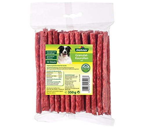 Dehner Hundesnack, Kaurollen rot, 50 Stück