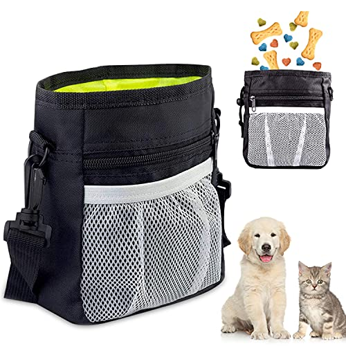 Futterbeutel für Hunde, Premium Hundefutter Taschen, Praktischer Leckerlibeutel mit Integriertem...