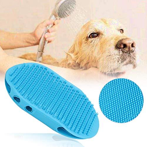 Eosnow Die Bürstenhand kann auf den Kamm-Tierhaarkamm, die Hundepflege-Shampoo-Bürste, die runde...