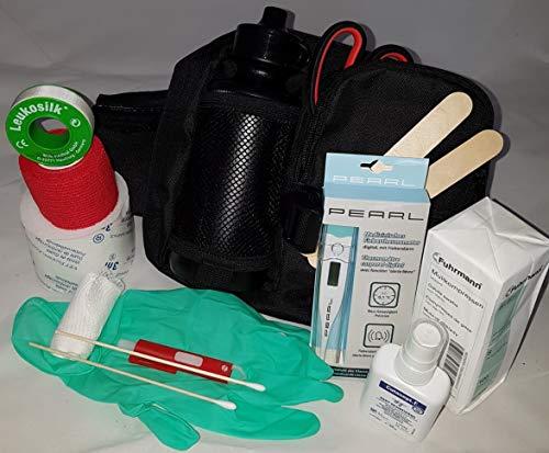 1.-Erste-Hilfe-Set speziell für den Hund (mit 0,5 l-Flasche)-oliv -– enthält NUR Artikel die wirklich...