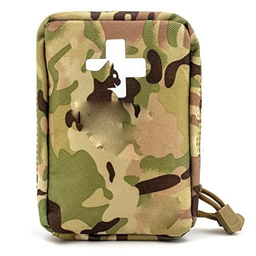 NACHEN Erste-Hilfe-Tasche Leere Reiserettungstasche, Erste-Hilfe-Aufbewahrung Kompakte Tasche für Auto...