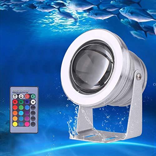 eecoo LED Scheinwerfer Strahler RGB Farbwechsel Spot Licht mit IR Fernbedienung, IP67 wasserdichte Teich...
