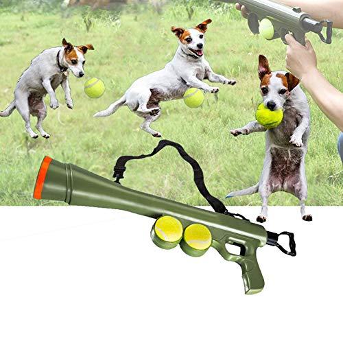 Eortzzpc Ball-Schleuder Für Hunde, Alle Hunderassen Ballwerfer, Ballkanone Mit 15m Reichweite,...
