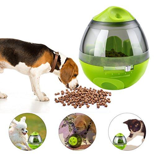 Hundefutter Ball, Yokunat Hunde Katzen Snackball Futterball Hundespielzeug Snackbälle Tumbler Form...