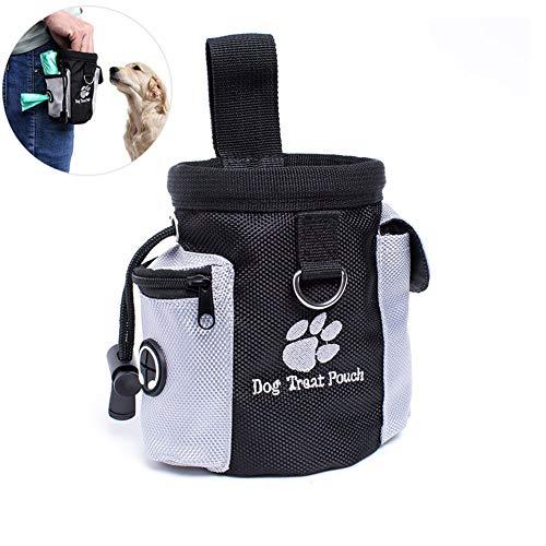 othulp Futterbeutel Hunde Leckerlibeutel Fur Hunde Hundetraining Wandertasche Hundegehzubehör Treat Bag...