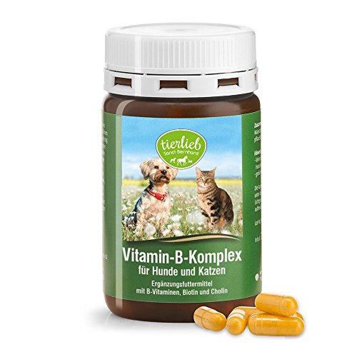 Sanct Bernhard Vitamin-B-Komplex-Hunde-120 Kapseln, 1er Pack (1 x 48 g)