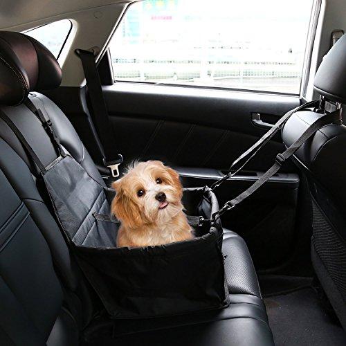 Ducomi DogSit Pet Autositz für Hunde und Katzen, Atmungsaktive wasserdichte Sitzbezug mit...