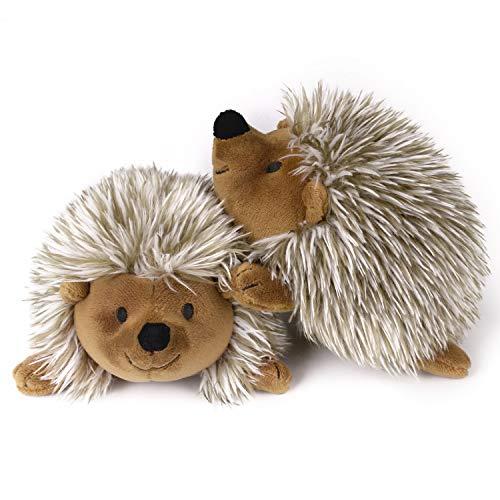 Pawaboo Plüschspielzeug für Hunde, 2 Stück Igel Plüsch Hundespielzeug Interaktiv Hundspielzeug mit...