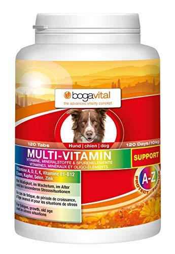 bogavital®MULTI VITAMIN SUPPORT - Vitamine für Hunde - Hunde Vitamine - Vitamin A, D, E, K, B1-B12,...