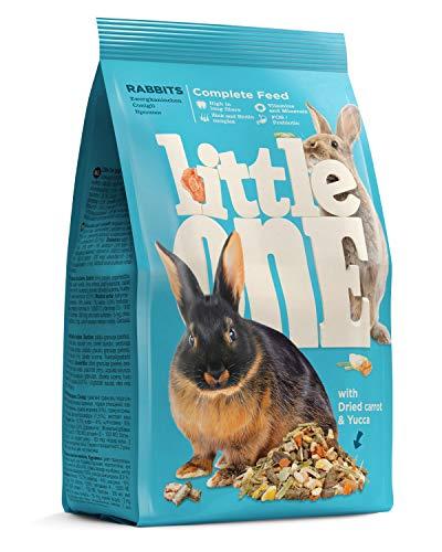 Little One Alleinfutter für Zwergkaninchen im Beutel, 5er Pack (5 x 400 g)