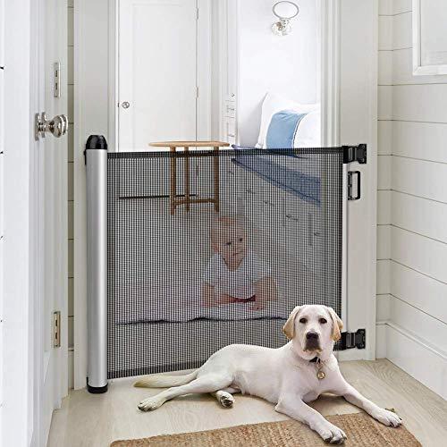 Meinkind Türschutzgitter Treppenschutzgitter Roll, Hundeschutzgitter, Baby Absperrgitter ausziehbar &...