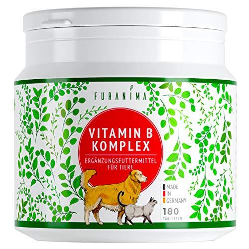 Furanima Vitamin B Komplex für Hunde - 180 Tabletten (bis zu 6 Monaten) - Vitamine für Hunde und Katzen...