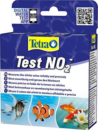 Tetra Test NO2 (Nitrit) - Wassertest für Süßwasser-Aquarien, Meerwasser-Aquarien und Gartenteiche,...