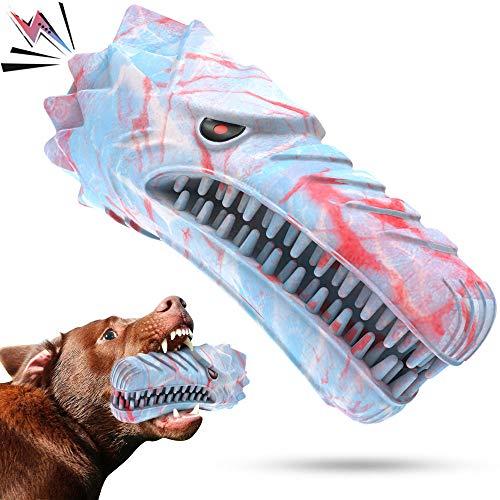 Cutiful Hundespielzeug für aggressive Kauer, große und mittelgroße Rassen, Kauspielzeug, nahezu...