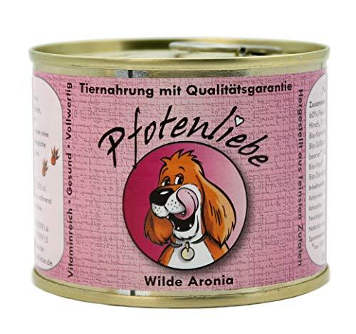Pfotenliebe Bio Futter Hund | Wilde Aronia | mit Qualitätsgarantie | Natürlich ohne Chemie | Machen Sie...