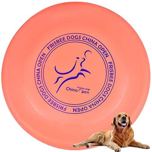 Demason Hundefrisbee Frisbee aus Kautschuk Intelligenzspielzeug Naturkautschuk Ø 23cm Wasserspielzeug...