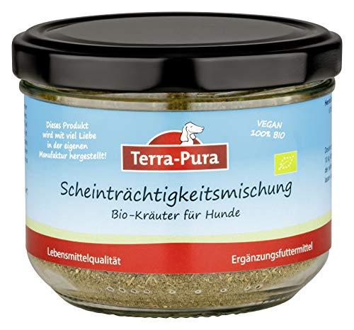 TERRA-PURA Tiernahrung Bio-Kräutermischung für Hunde und Katzen,Scheinträchtigkeitsmischung,...