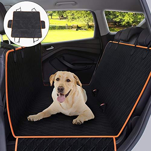 MorNon Auto Hundedecke Schutzdecke Hund Autoschondecke Rückbank Kofferraum wasserdicht für Hunde
