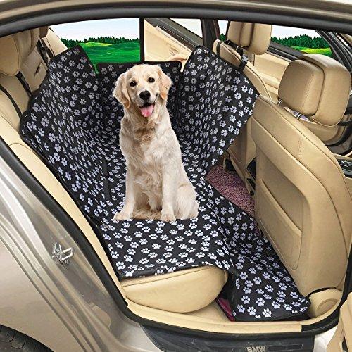 MATCC Hunde Autositz Einzelnsitz Für Rückbank Wasserdicht Hund Autositzbezug Autositz Für Haustier...