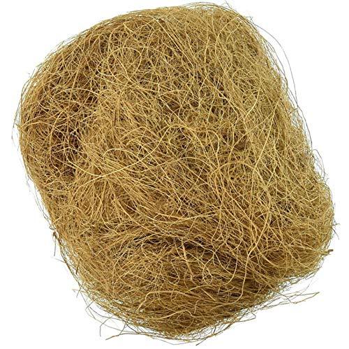 LOPADE g Bequeme Bettwäsche aus Kokosfasern für kleine Vögel und Tiere Nestmaterial ideal für Nestbau...