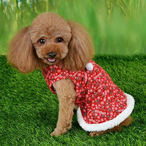 Nette Hundekleidung, Mädchenhundekleidung, für Hunde Katzen zum Warmhalten(M)