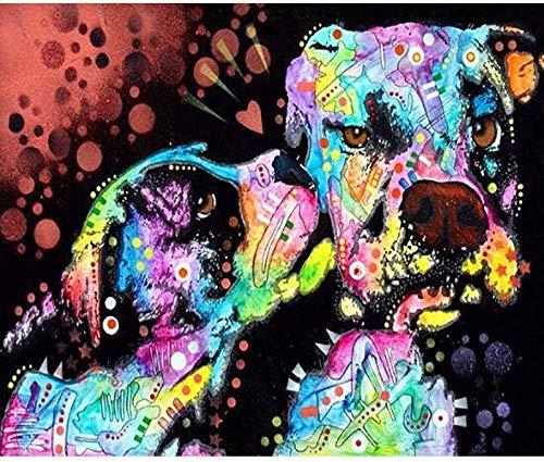 BinTing 3000 Stück Tier-Puzzles für Erwachsene-Hund-Kunst Freizeitspiel Spaß Spielzeug Geschenk...