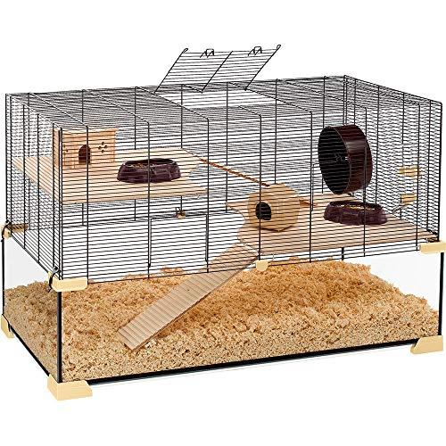Ferplast Käfig für Hamster oder Mäuse Karat 60 Lebensraum für kleine Nagetiere, Struktur auf zwei...