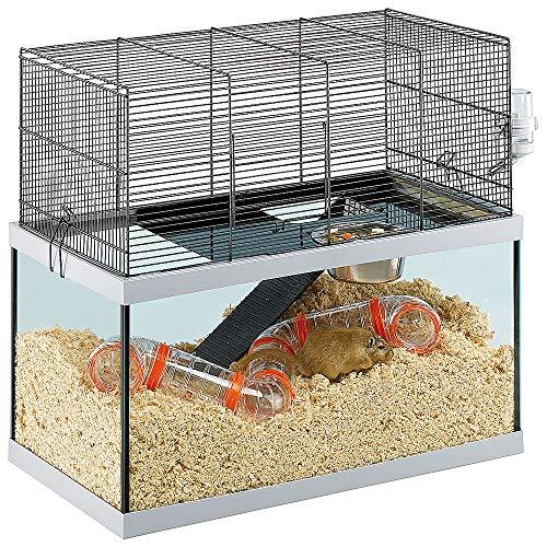 Ferplast Käfig für Rennmäuse Gabry 60 Kleine Nagetiere, Struktur auf Zwei Etagen, Zubehör inklusive,...