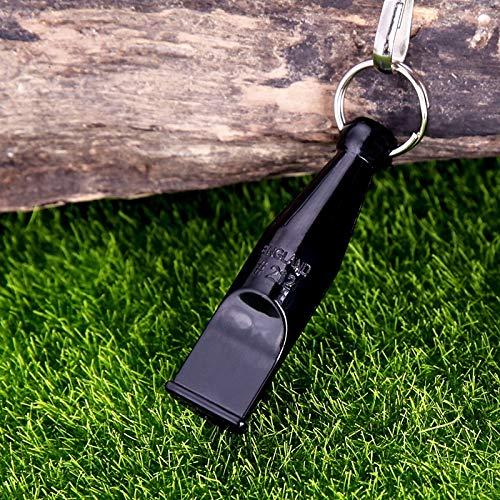 LANTIANXIAN Hundepfeife Design for Trainings-Hund mit Lanyard (Farbe : Schwarz)