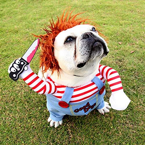 Okssud Hundekostüm Weihnachtsfeier Hundebekleidung & Zubehör Halloween Rollenspiele Verkleidungen &...