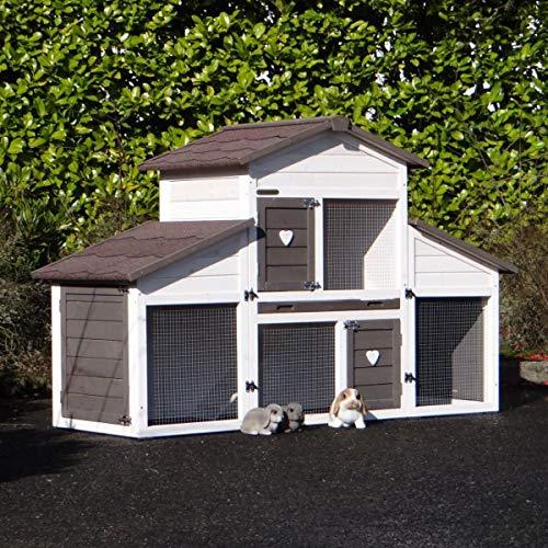 Wetterfester Kaninchenstall Annemieke