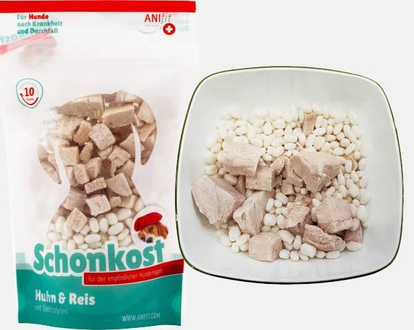 Schonkost Huhn Reis